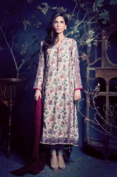 Ethnic By Outfitters , trousers long shirts, embroidery , shirt was long-casual wear, formal wear, party wear, semi - formal wear