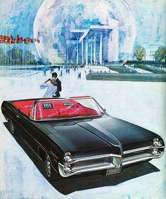 1967 Pontiac Parisienne Convertible (Canada) by aldenjewell, via Flickr