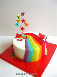 Rainbow cakes #ASIANPAINTS