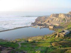 Sutro Baths ruins San Francisco