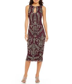 Shop for Pisarro Nights Beaded Tea Length Sheath Dress at Dillards.com. Visit Dillards.com to find clothing, accessories, shoes, cosmetics & more. The Style of Your Life.