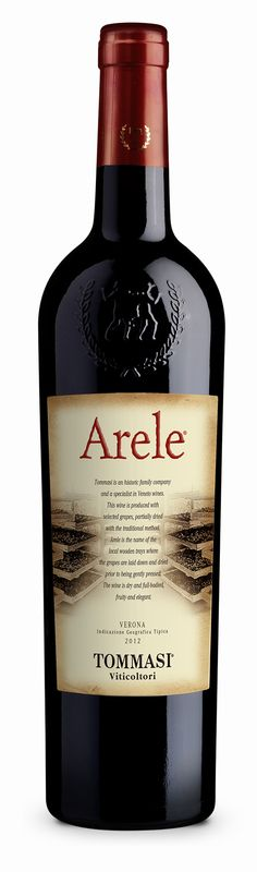 Arele Parziale Appassimento Tommasi Viticoltori red wine from Italy. A dry, full bodied spicy red wine with flavours of crushed raspberry, black cherry, plum compote, dried herbs and mulling spice.