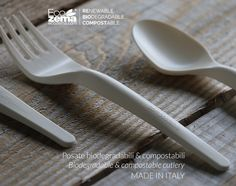 biodegradable and compostable cutlery by Ecozema - made in Italy #green #tableware #disposable #monouso #compostabile #design #recycle #reuse #reduce #stoviglie #madeinitaly #biodegradabile #ecofriendly #compostable #biodegradable #ecozema #sustainable