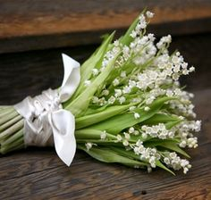 Lilies of the valley bouquet. Understated. The ultimate word in quiet elegance in bouquets.