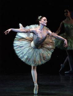"Ashley Bouder in Peter Martin's ""the Sleeping Beauty"" #ashleybouder"