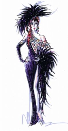 Cher, stage costume