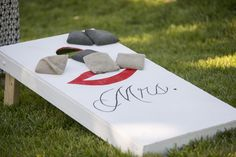personalized corn hole game