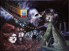 Total trip by artist George Karakasoglou on EMPTY KINGDOM