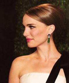Snag the hairspray Natalie Portman used to get her sleek 'do at the Vanity Fair #Oscars party.