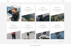 Up - Blog WordPress Theme by Malvouz on @creativemarket