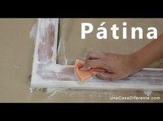 Cómo pintar madera con efecto envejecido pátina para conseguir un efecto vintage… Vintage Diy, Furniture Makeover, Diy Furniture, Painting On Wood, Painted Furniture, Decoupage, Diy Home Decor, Diy And Crafts, Diy Projects