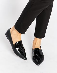 ASOS+MIMI+Pointed+Flat+Shoes
