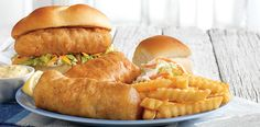 Culver's North Atlantic Cod: Landing the Best Wisconsin Cheese Curds, Atlantic Cod, Fish Sandwich, Frozen Custard, Instant Win Games, Mozzarella Sticks, Hot Dog Buns, Seafood, Sandwiches