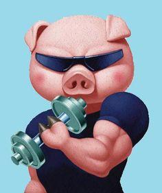 Pig Gym