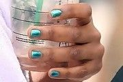 Jennifer Hudson Nails Metallic Nail Polish, Sparkle Nails, Jennifer Hudson, Pop, Natural, Hair, Popular, Pop Music, Nature