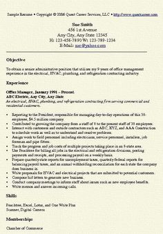 Office Manager Resume Samples Free Office Manager Resume Sample Template Example Cv Formal .