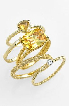 pretty #gold stackable rings http://rstyle.me/n/jni85r9te