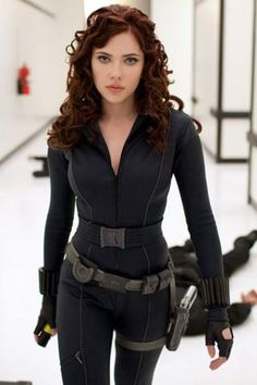 ScarJo from IronMan 2 her awesomeness level is way too high.