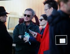"""Robert, Emilie and Giles - 6 * 11 """"Murder Most Foul"""" - Behind the scenes - 2 November 2016"""