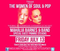 Mahalia & The Soul Mates + Prinnie Stevens