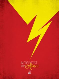 Justice League of America MinimalistPrints - The Flash