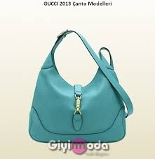 a8dd508cd4b808 jackie light blue leather shoulder bag Gucci Is Fab!
