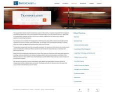 Practice areas pages, legal web design | PaperStreet
