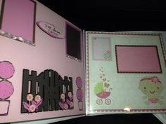Baby book layout