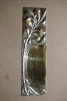 1000 images about antique door finger plates on pinterest for Door finger plates