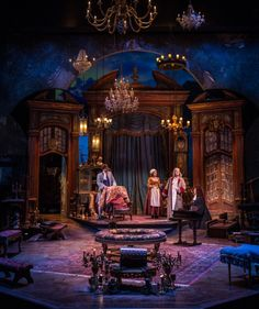 The Heir Apparent (Chicago Shakespeare Theatre) Designed by Kevin Depinet
