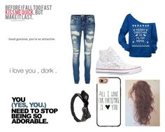 """""""Hanging with HIM"""" by haileywwe ❤ liked on Polyvore featuring Casetify, Wet Seal, Vero Moda, Converse, Christmas, love, younglove and iwish"""