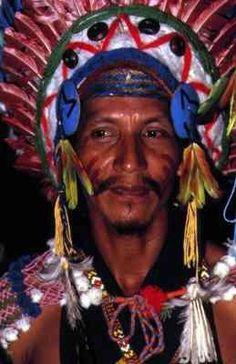 Amerindien du Maroni, Guyane.