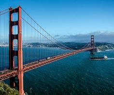 Golden Gate Bridge, San Francisco via Luxury Travel Blog