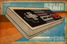 #NES Now You're Playing With Power!