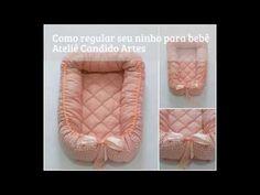 Como fazer a regulagem do ninho para bebê - by Ateliê Candido Artes - YouTube