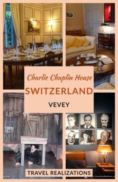 Charlie Chaplin, one of the most powerful protagonists in world cinema spent the last 25 years of his life in Vevey Switzerland, one of the pearls of the beautiful Swiss Riviera. Chaplin's World, the Charlie Chaplin house in Switzerland - a must-visit place if you are in Switzerland. #CharlieChaplin #Chaplinsworld #Switzerland Backpacking Europe, Europe Travel Guide, Travel Guides, Travel Plan, Switzerland Destinations, Switzerland Travel Guide, European Destination, European Travel, Vevey