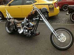 Like This Chopper Bike. Chopper Motorcycle, Bobber Chopper, Motorcycle Style, Custom Choppers, Custom Motorcycles, Custom Bikes, Sidecar, Motos Harley Davidson, Old School Chopper