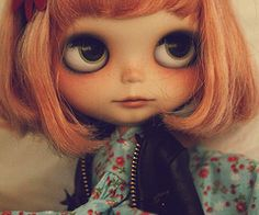 freckle blythe doll
