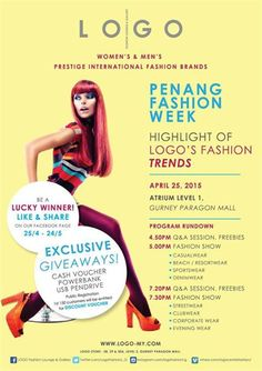 25 Apr 2015: LOGO Fashion Highlight of LOGO Fashion