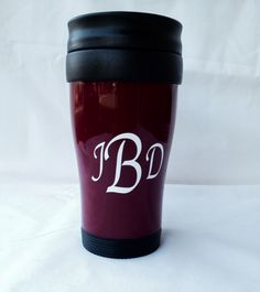 Monogramed thermos