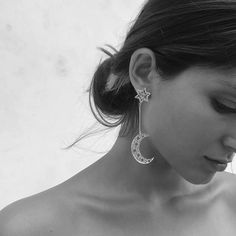 Zoe and Morgan earrings