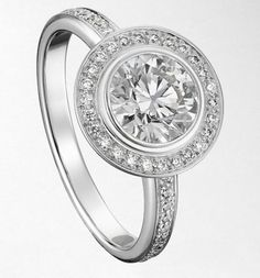 Anillos Compromiso Cartier /  Cartier Bridal Rings    #rings #bridal #anillosdeboda #bodas #cartier