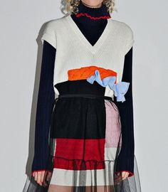 MSGM knit détails pre-fall 2016