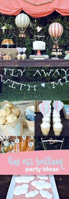 Baby Shower Vintage Ideas Hot Air Balloon Ideas For 2019 Boy Baby Shower Themes, Baby Shower Balloons, Birthday Balloons, Baby Boy Shower, Ballon Party, Balloon Invitation, Baby Shower Vintage, Festa Party, Diy Party