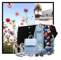 """in love"" by luhmartins ❤ liked on Polyvore featuring rag & bone/JEAN, LE3NO and Van Cleef & Arpels"