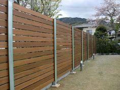 高さ2m40㎝の板塀完成 - 広島市・福山市の庭・エクステリア ガーデンアート昌三園