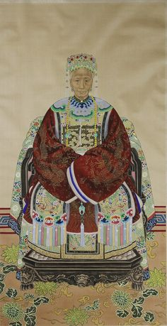 Chinese Ancestral Painting - by Altair Auctions