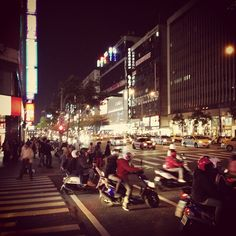 Taipei street scene Taipei Taiwan, Times Square, Asia, Chinese, Scene, Night, Street, Random, Photography