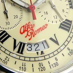 Alfa Romeo chronograph.
