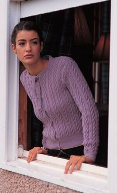 Free knitting pattern - Georgie by Sarah Dallas in Rowan 4 Ply Soft (discontinued)